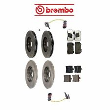 MB W203 SLK280 Set of 2 Front & Rear Rotors Pads Sensor Brake KIT Brembo