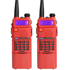 2PCS BaoFeng UV-5R Dual UHF/VHF Radio Transceiver 3800mah Battery walkie talkie