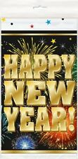"""FIREWORKS NEW YEAR"" Party Supplies Plastic TABLECOVER (Print All Over) 54x84"