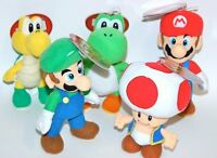 Together Plus Soft toy Plush 24 cm Range MARIO YOSHI TOAD KOOPA TROOPA LUIGI