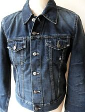 GAS Jacket Men's Denim Slim Fit Jackets Various Colours Sizes: S - XL