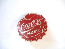 PINS COCA COLA CAPSULE MUSIC