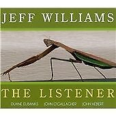 Jeff Williams-The Listener CD NEW