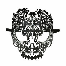 NEW Metal Filigree Women's Venetian Masquerade Mask