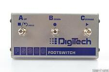 DIGITECH FS300 3-Button Multi-Function Footswitch Controller Pedal NEW #26912