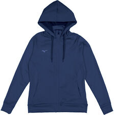 Mizuno - Womens M - NWT Navy Blue Full-Zip Hooded/Hoodie Sweatshirt Track Jacket