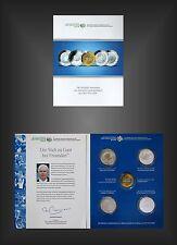 MDM Folder mit 4 x 10 Euro Silber Gedenkmünzen 2003 - 2006 Fussball-WM BRD