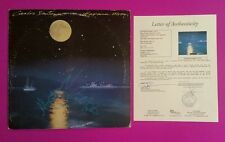 "CARLOS SANTANA +1 SIGNED ""HAVANA MOON"" LP ALBUM WITH JSA COA AND PHOTO PROOF"