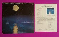 "CARLOS SANTANA +1 SIGNED ""HAVANA MOON"" LP ALBUM WITH JSA COA AND PHOTO PROOF"