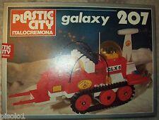 Vintage Plastic City Italo cremona serie Galaxy dal n. 207
