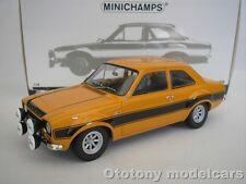 FORD ESCORT I RS 1600 FAV 1970 ORANGE 1/18 MINICHAMPS 100688104 NEW