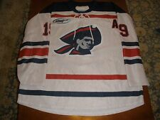 "Robert Morris Univ.3rd Tie Up Hockey Jersey #19 ""A"" Name bars not used. size 52"