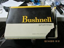 Vintage Bushnell 7x35 #16-9346 Binoculars with Bushnell Case & Outer Box