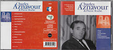 CD 12T CHARLES AZNAVOUR & PIERRE ROCHE BEST OF 2001 TBE