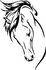 "HORSE WALL ART  decal  sticker 5.5""x 3.85""  gorgeous    Many colors available"