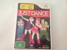 JUST DANCE WII NINTENDO LICENCED GENUINE DVD, AS NEW RRP $49.90VIDEO GAMES