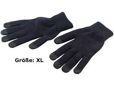 Touchscreen Handschuhe Winter Handschuh Gr. XL mit 5 Fingerkuppen Handy Tablet