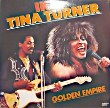IKE & TINA TURNER golden empire LP 1986 STRIPED HORSE mississippi roling stone++