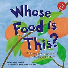 Whose Food Is This?: A Look at What Animals Eat - Leaves, Bugs, and Nu-ExLibrary