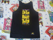 VTG Do The Right Thing Spike Lee 1989 Movie Promo rap hip hop T shirt Tank Top M