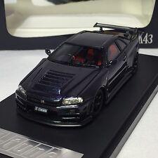 1/43 Scale Mark43 Nismo R34 GTR R34 Z-tune Purple PM4345MP