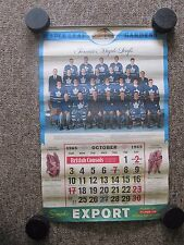 SIX Toronto Maple Leafs Calendars. 4 Export A + 2 Dominion. 1965 to 1980