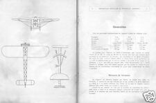Blériot XI French monoplane manual rare archive detail 1911 historic period