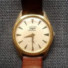 Vintage Longines Automatic Gilded Mens wrist watch circa 1965