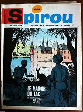 (A)SPIROU N°1530 Avec le mini-récit, Avec le supplément Belge