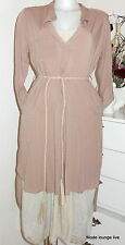 Ester Elenora Shirt dress with belt Tamara 36, 38, 40 dress sand rosa dusky pink
