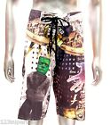 "z4 Minute Mirth Shorts Sz 30"" 32"" 34"" 36"" 38"" Skateboard Trunks Swim Tattoo Men"