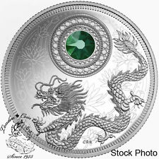 Canada 2016 $5 May Birthstones Silver Coin ** Only 3000 Minted!! **