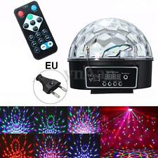 RGB Disco Stage Effect Light Lighting DMX512 LED DJ Party Club Show Crystal Ball