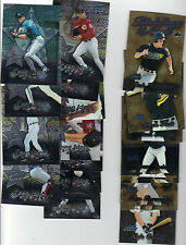 2000 BOWMAN CHROME BIDDING FOR THE CALL INSERT NEAR SET 13/15, JOSH HAMILTON ++