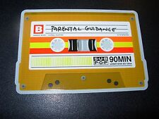 "SUB POP SEATTLE 4"" PARENTAL GUIDANCE Cassette Sticker Decal pearl jam nirvana"