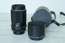 Asahi Pentax Super Takumar 150mm f4 M42 Manual Prime Lens with hood and case