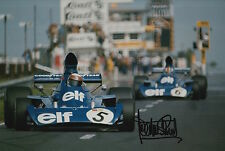 Jackie Stewart Hand Signed Tyrrell F1 12x8 Photo 6.