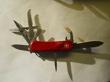 Wenger EVO 18 Swiss Army knife in red - retired