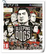 PS3 SONY PlayStation SLEEPING DOGS Square Enix Action