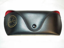 RAY-BAN SOFT SIDED BLACK EYE SUN GLASSES CASE