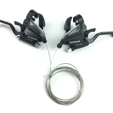 Shimano ST-EF500-L 3x8 veces Palanca Mandos de Cambios / Freno Levers para Bici