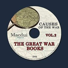 The Great War books Vol.2 WW1 Vintage Books Collection 124 PDF EBooks on 1 DVD