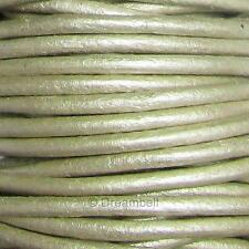 Natural Leather BEAD STRINGING CORD Many Colors / Sizes