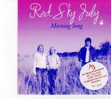 (DZ634) Red Sky July, Morning Song - DJ CD