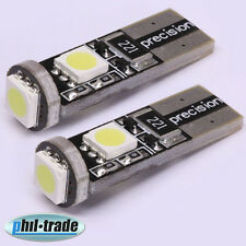 2 Stück SMD LED T10 w5w CANBUS Lampe 12V weiß Innenraum Beleuchtung Leselampe