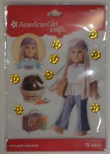 NEW American Girl Crafts Sturdy Stickers Julie 1974