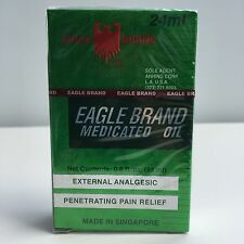 Eagle Brand Medicated Oil 24 ml (0.8 Fl Oz) Dau Gio Xanh