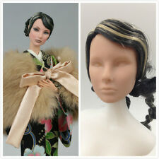 Fashion Royalty Integrity Doll Giselle In Yuzen Blossom Blank Face Head for ooak