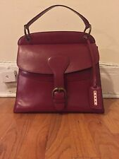 MARNI perfect leather handbag red, structured shoulder bag Originally $1860!
