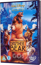 Brother Bear Walt Disney Childrens Animated disneydvd Film DVD New Sealed